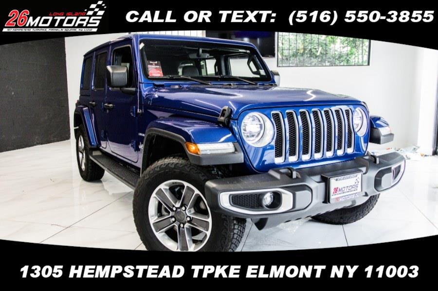 Used Jeep Wrangler Unlimited Sahara 4x4 2020 | 26 Motors Long Island. ELMONT, New York