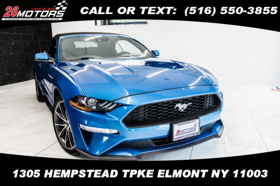 Used Ford Mustang EcoBoost Premium Convertible 2019 | 26 Motors Corp. Bronx, New York