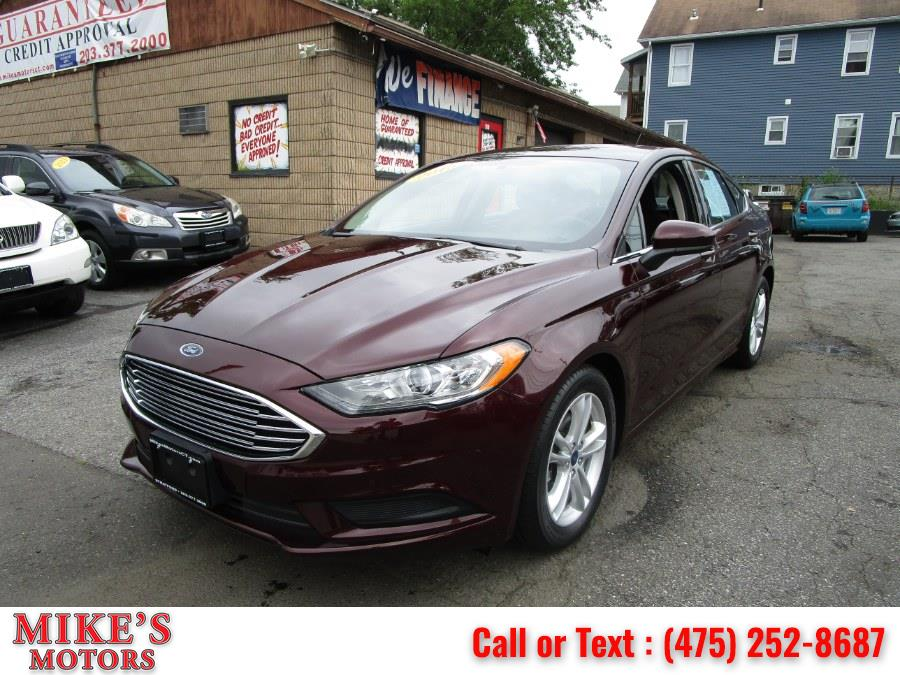 Used 2018 Ford Fusion in Stratford, Connecticut | Mike's Motors LLC. Stratford, Connecticut
