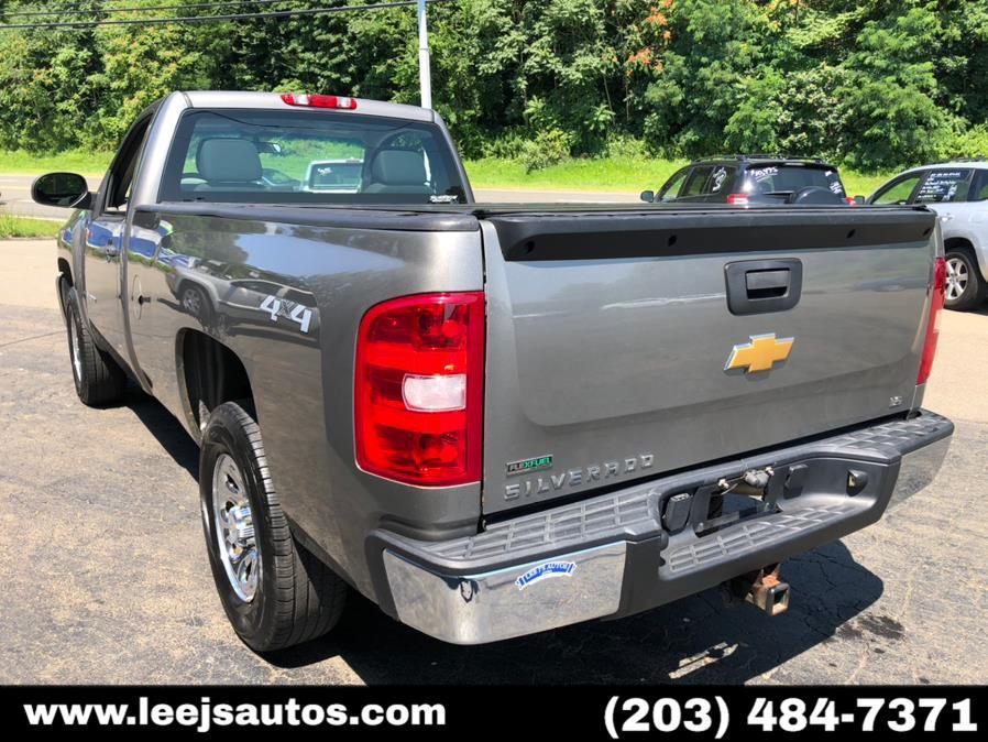 "Used Chevrolet Silverado 1500 4WD Reg Cab 133.0"" Work Truck 2012 | LeeJ's Auto Sales & Service. North Branford, Connecticut"