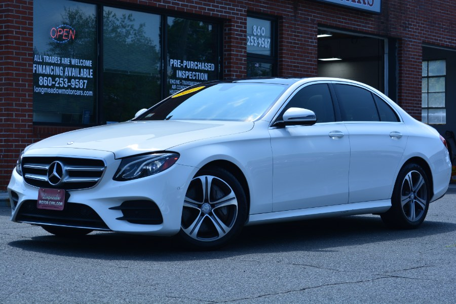 Used 2017 Mercedes-Benz E-Class in ENFIELD, Connecticut | Longmeadow Motor Cars. ENFIELD, Connecticut