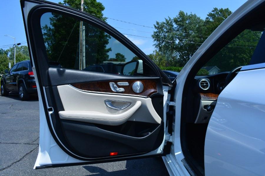 Used Mercedes-Benz E-Class E 300 Sport 4MATIC Sedan 2017   Longmeadow Motor Cars. ENFIELD, Connecticut