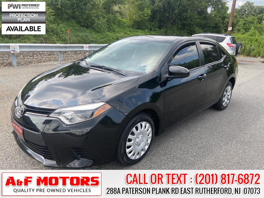 Used 2014 Toyota Corolla in East Rutherford, New Jersey | A&F Motors LLC. East Rutherford, New Jersey