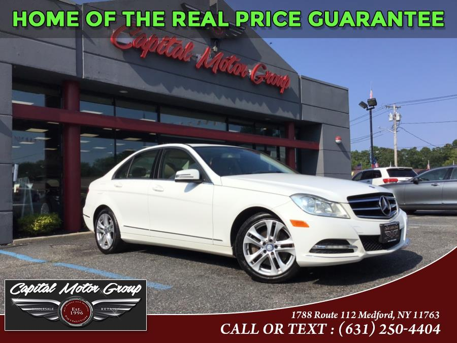 Used Mercedes-Benz C-Class 4dr Sdn C300 Sport 4MATIC 2013 | Capital Motor Group Inc. Medford, New York