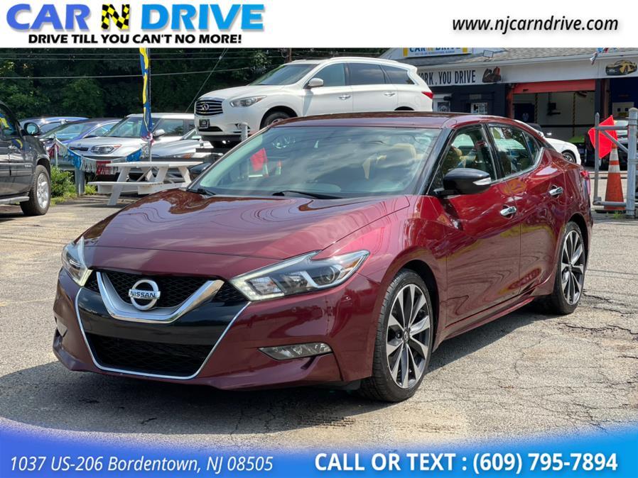 Used Nissan Maxima 3.5 SR 2016   Car N Drive. Bordentown, New Jersey