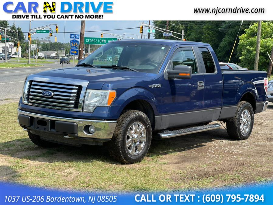 Used Ford F-150 XLT SuperCab 8-ft. Bed 4WD 2010 | Car N Drive. Bordentown, New Jersey