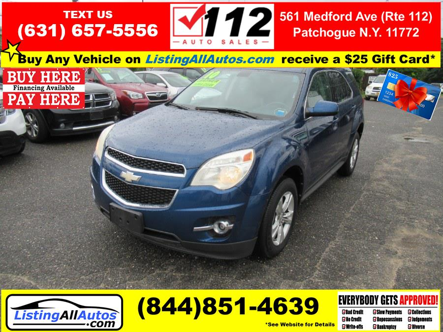 Used 2010 Chevrolet Equinox in Patchogue, New York   www.ListingAllAutos.com. Patchogue, New York