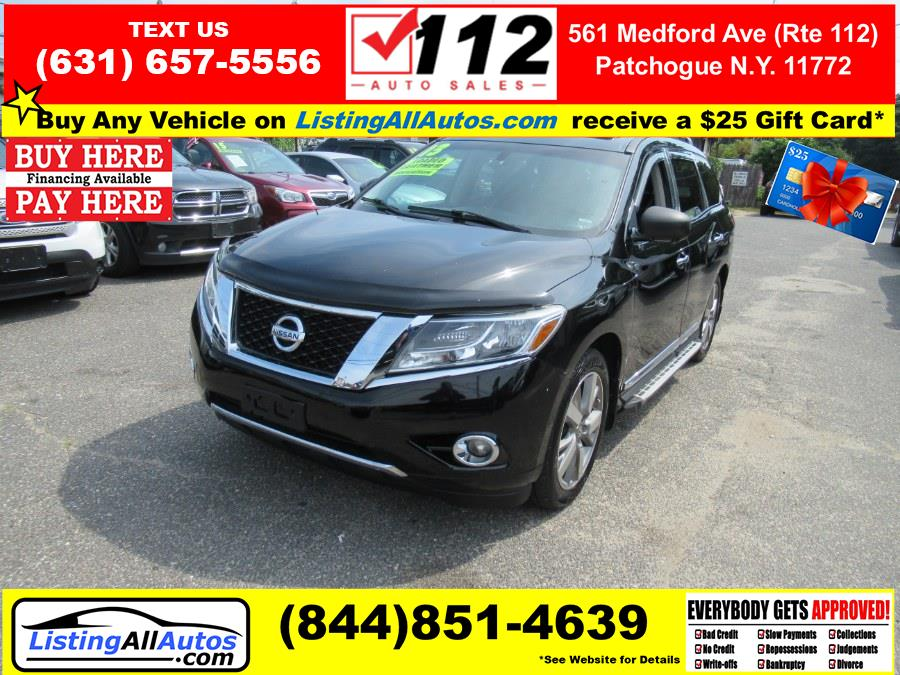 Used Nissan Pathfinder 4WD 4dr S 2013   www.ListingAllAutos.com. Patchogue, New York