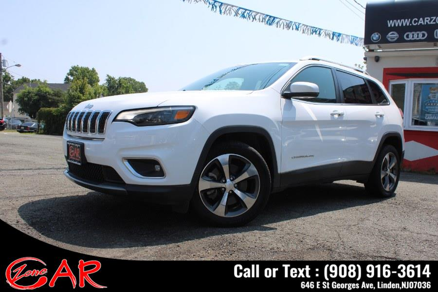 Used Jeep Cherokee Limited FWD 2019   Car Zone. Linden, New Jersey