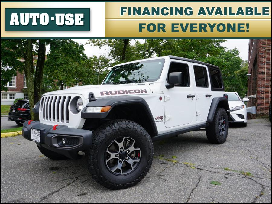 Used Jeep Wrangler Unlimited Rubicon 2018   Autouse. Andover, Massachusetts