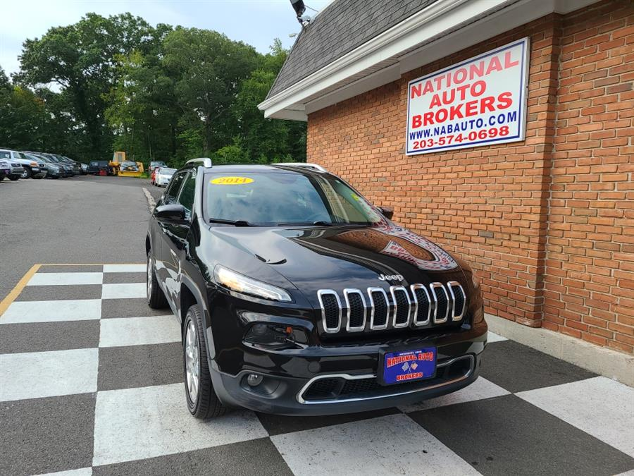 Used Jeep Cherokee 4WD 4dr Limited 2014 | National Auto Brokers, Inc.. Waterbury, Connecticut