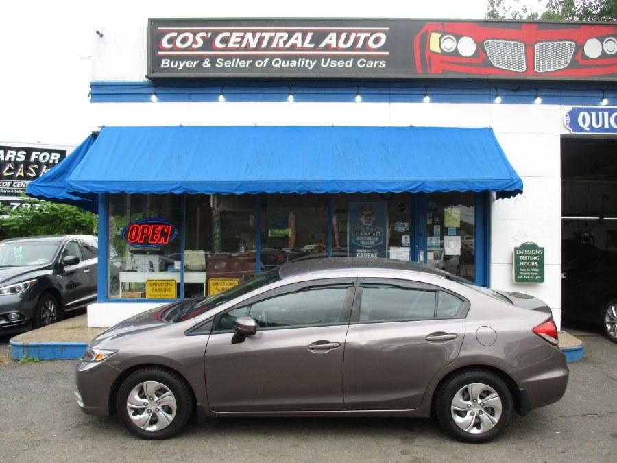 Used 2015 Honda Civic Sedan in Meriden, Connecticut | Cos Central Auto. Meriden, Connecticut