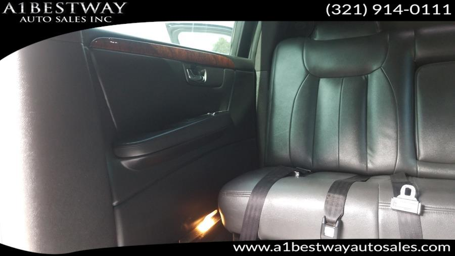 Used Cadillac DTS Professional 6dr Sdn Limousine 2009 | A1 Bestway Auto Sales Inc.. Melbourne , Florida