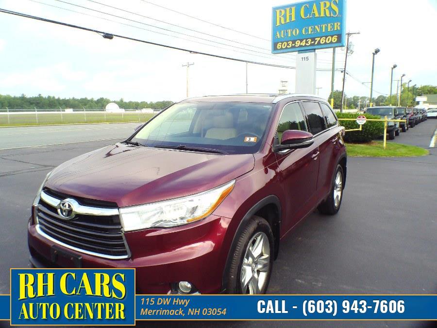 Used 2014 Toyota Highlander in Merrimack, New Hampshire | RH Cars LLC. Merrimack, New Hampshire