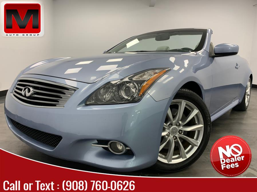 Used INFINITI G37 Convertible 2dr Base 2013 | M Auto Group. Elizabeth, New Jersey