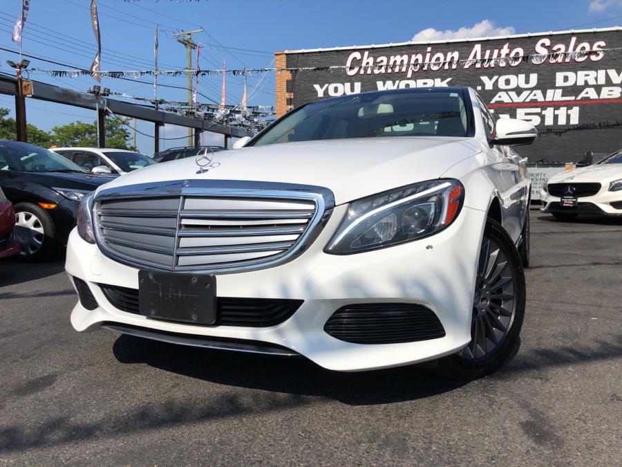Used 2016 Mercedes-Benz C-Class in Bronx, New York | Champion Auto Sales Of The Bronx. Bronx, New York