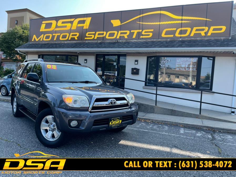 Used Toyota 4Runner 4WD 4dr V6 SR5 (Natl) 2008 | DSA Motor Sports Corp. Commack, New York