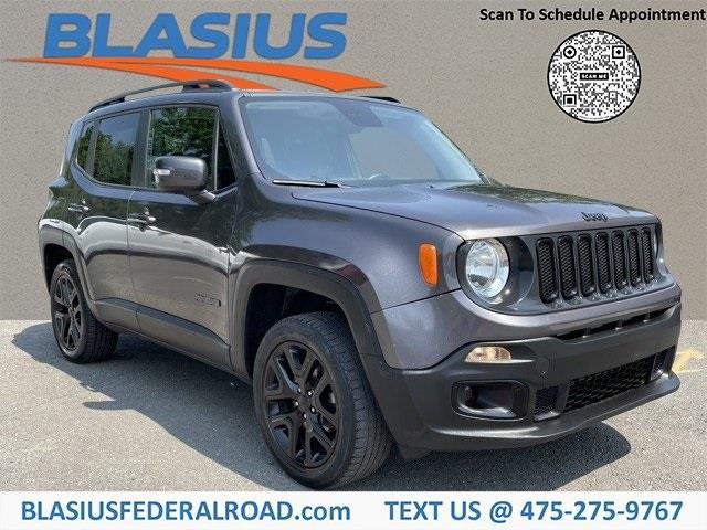 Used Jeep Renegade Altitude 2017   Blasius Federal Road. Brookfield, Connecticut