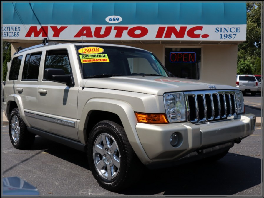 Used 2008 Jeep Commander in Huntington Station, New York | My Auto Inc.. Huntington Station, New York