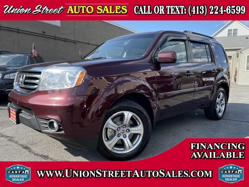 Used Honda Pilot 4WD 4dr EX-L 2012 | Union Street Auto Sales. West Springfield, Massachusetts
