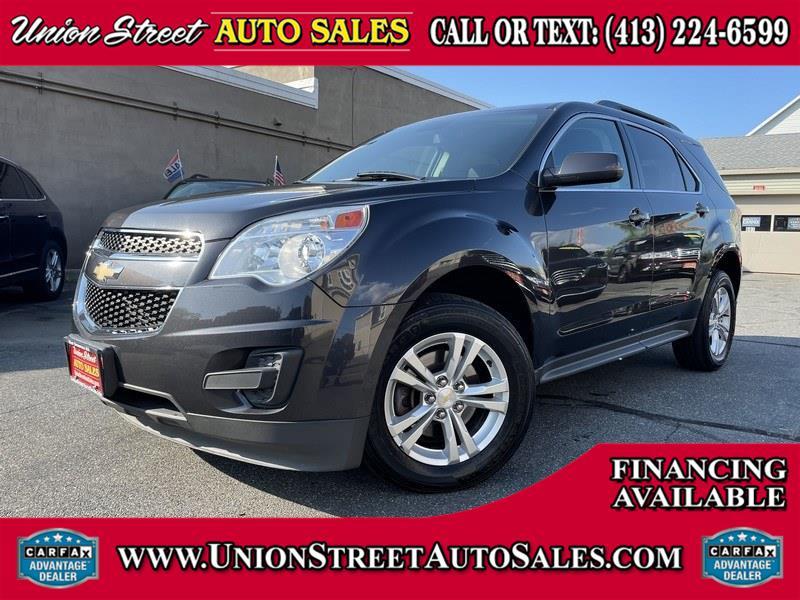 Used Chevrolet Equinox AWD 4dr LT w/1LT 2015   Union Street Auto Sales. West Springfield, Massachusetts