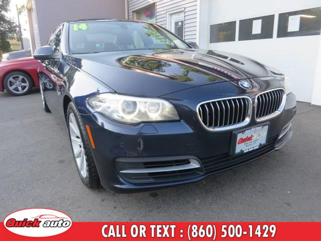 Used BMW 5 Series 4dr Sdn 535i xDrive AWD 2014 | Quick Auto LLC. Bristol, Connecticut
