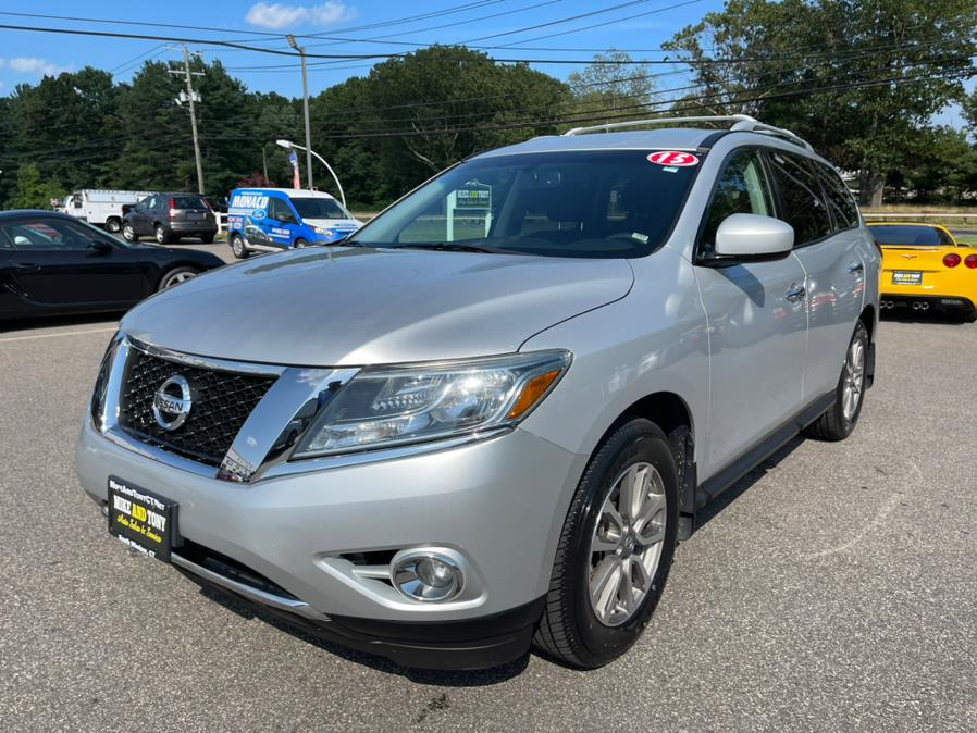 Used Nissan Pathfinder 4WD 4dr S *Ltd Avail* 2015   Mike And Tony Auto Sales, Inc. South Windsor, Connecticut
