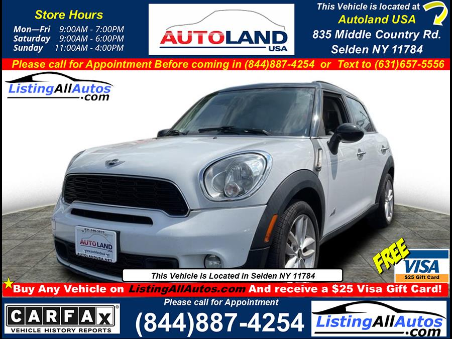Used 2014 Mini Countryman in Patchogue, New York | www.ListingAllAutos.com. Patchogue, New York