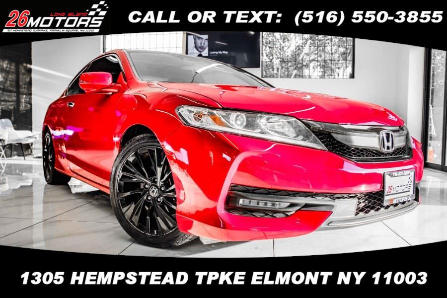 Used Honda Accord Coupe 2dr I4 CVT EX w/Honda Sensing 2016   26 Motors Long Island. ELMONT, New York