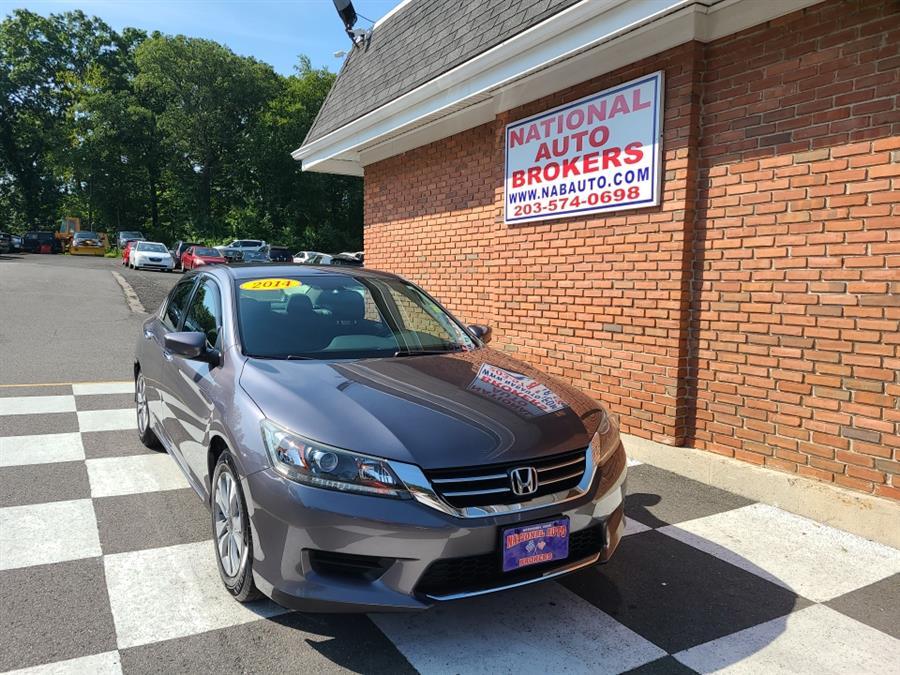 Used Honda Accord Sedan 4dr Manual LX 2014 | National Auto Brokers, Inc.. Waterbury, Connecticut