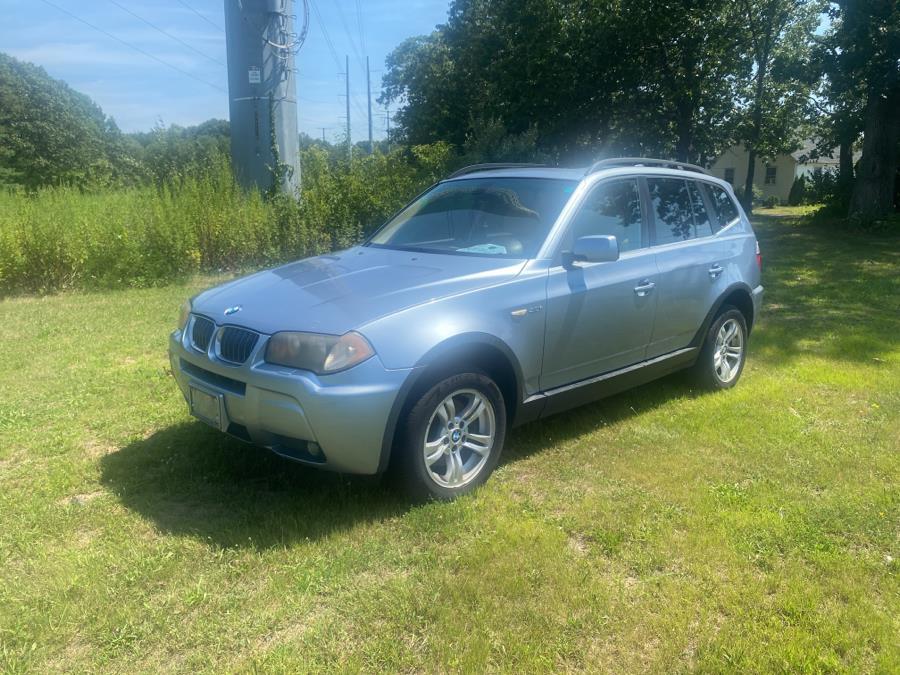 Used BMW X3 X3 4dr AWD 3.0i 2006 | Vertucci Automotive Inc. Wallingford, Connecticut