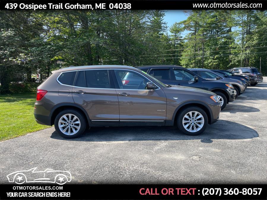 Used BMW X3 AWD 4dr xDrive28i 2013 | Ossipee Trail Motor Sales. Gorham, Maine