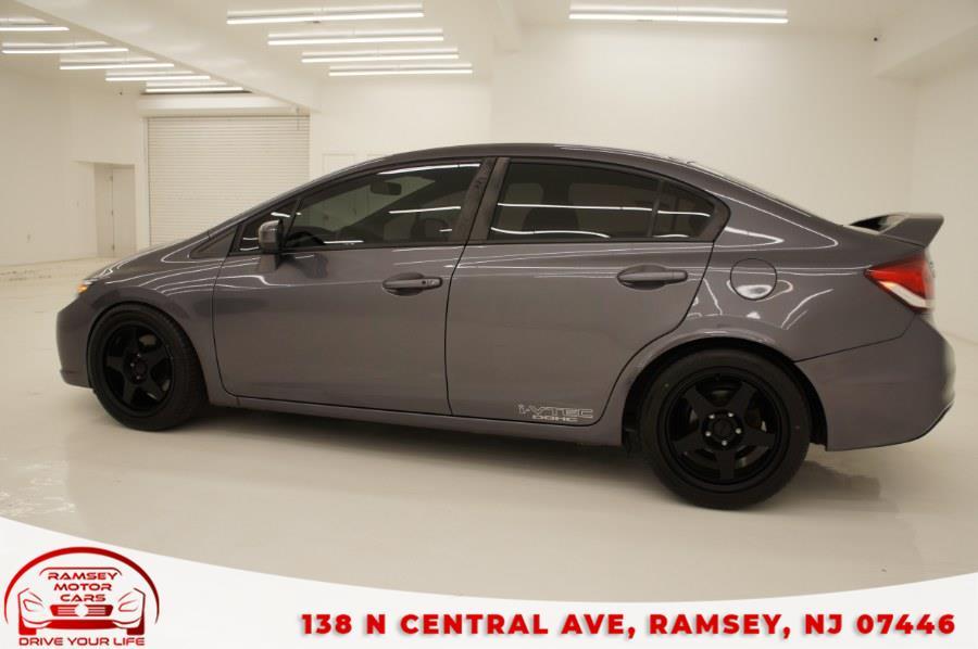 Used Honda Civic Sedan 4dr Man Si 2015   Ramsey Motor Cars Inc. Ramsey, New Jersey