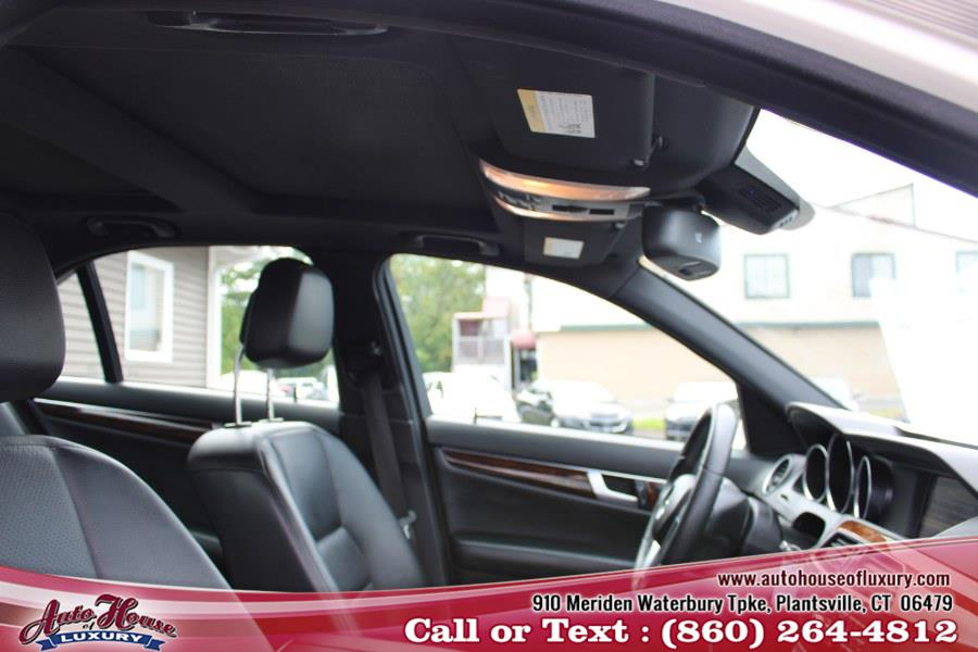 Used Mercedes-Benz C-Class 4dr Sdn C300 Sport 4MATIC 2012   Auto House of Luxury. Plantsville, Connecticut