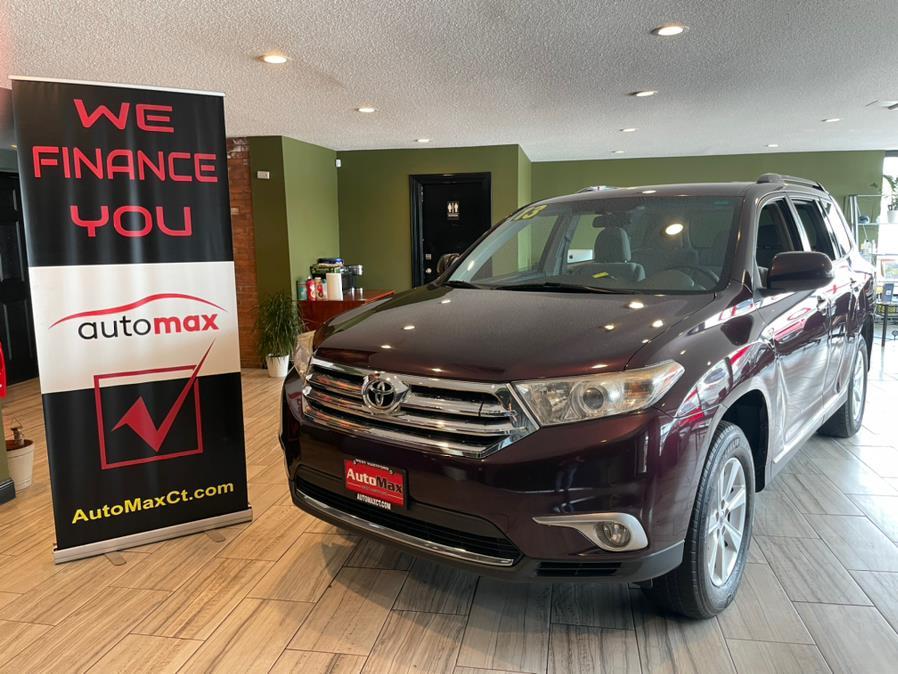 Used 2013 Toyota Highlander in West Hartford, Connecticut | AutoMax. West Hartford, Connecticut