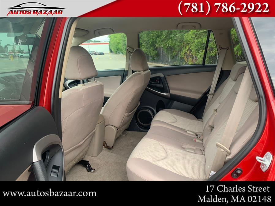 Used Toyota RAV4 4WD 4dr 4-cyl 4-Spd AT (Natl) 2008   Auto Bazaar. Malden, Massachusetts