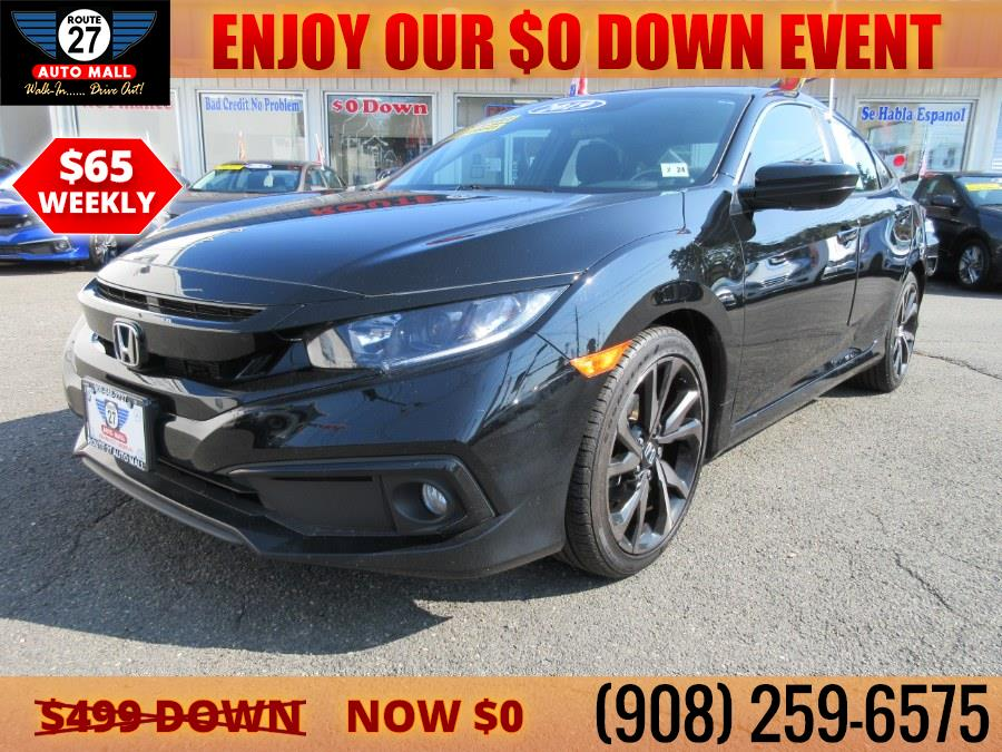 Used 2019 Honda Civic Sedan in Linden, New Jersey   Route 27 Auto Mall. Linden, New Jersey