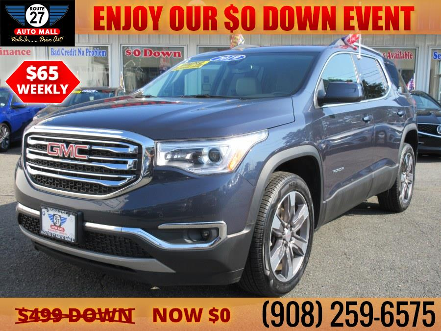 Used 2019 GMC Acadia in Linden, New Jersey   Route 27 Auto Mall. Linden, New Jersey