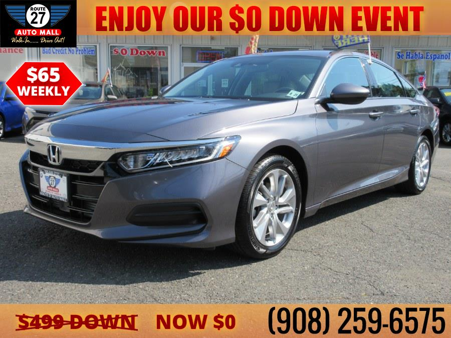 Used 2020 Honda Accord Sedan in Linden, New Jersey   Route 27 Auto Mall. Linden, New Jersey