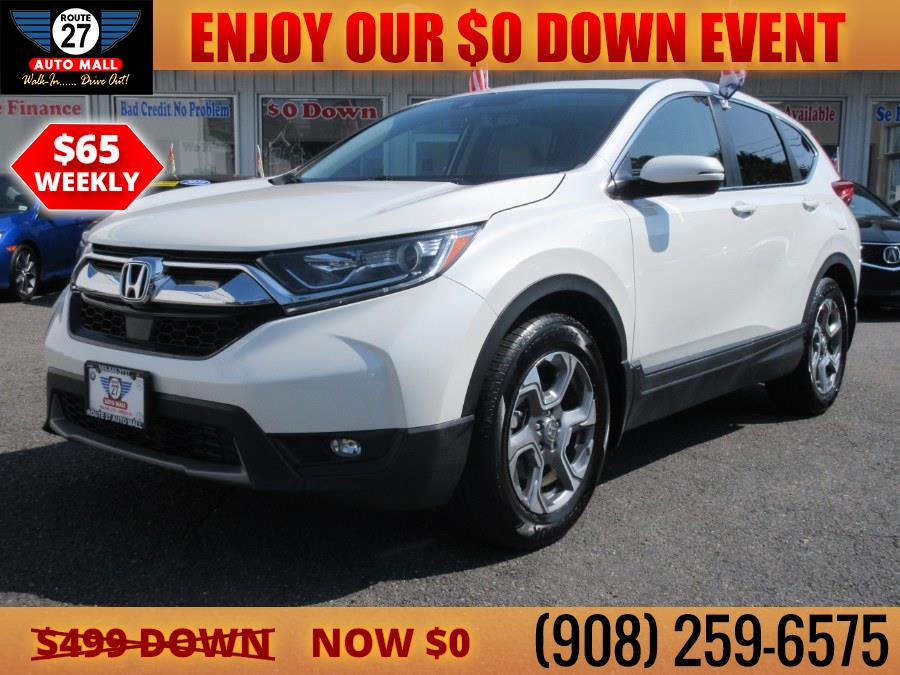 Used 2018 Honda CR-V in Linden, New Jersey   Route 27 Auto Mall. Linden, New Jersey
