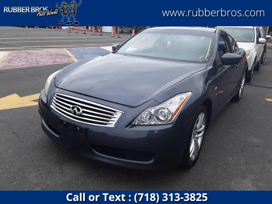 Used Infiniti G37 Coupe 2dr x AWD 2010   Rubber Bros Auto World. Brooklyn, New York