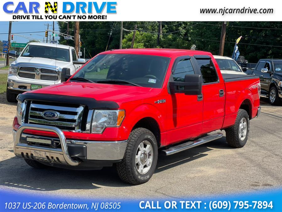 Used Ford F-150 XLT SuperCrew 5.5-ft. Bed 4WD 2012   Car N Drive. Bordentown, New Jersey