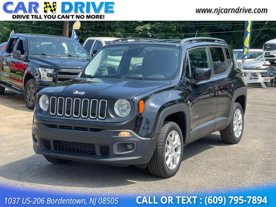 Used Jeep Renegade Latitude 4WD 2016   Car N Drive. Bordentown, New Jersey