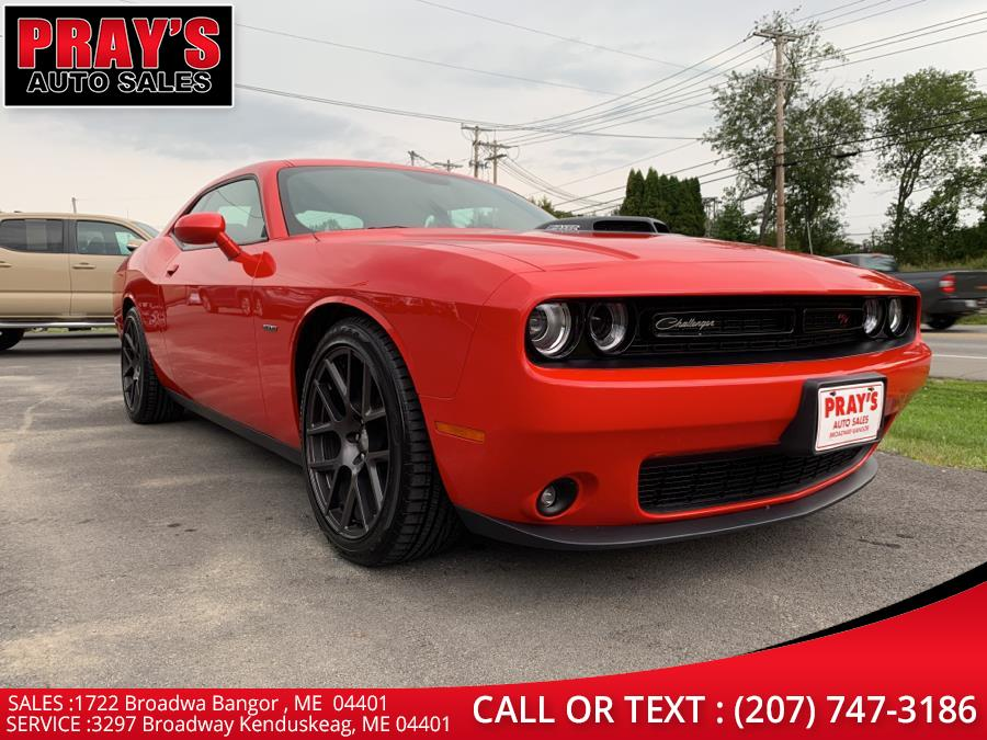 Used Dodge Challenger 2dr Cpe R/T Shaker 2016   Pray's Auto Sales . Bangor , Maine