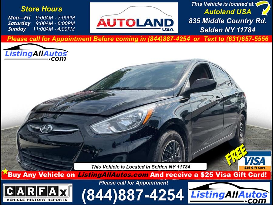 Used 2016 Hyundai Accent in Patchogue, New York   www.ListingAllAutos.com. Patchogue, New York