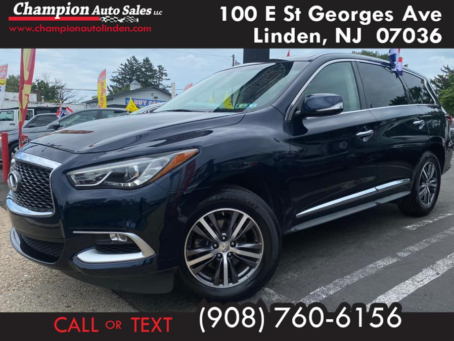Used 2016 INFINITI QX60 in Linden, New Jersey | Champion Auto Sales. Linden, New Jersey