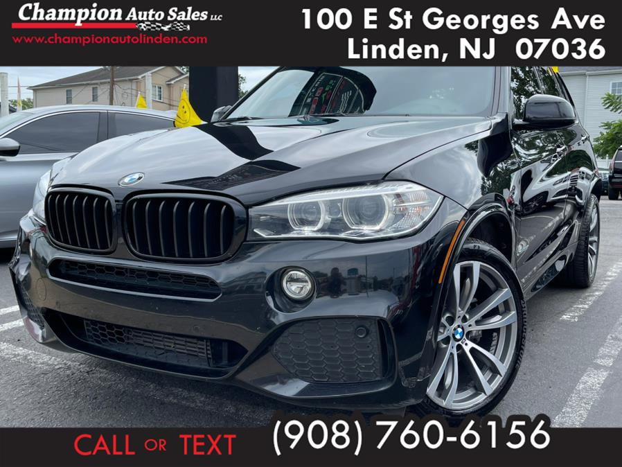 Used 2017 BMW X5 in Linden, New Jersey | Champion Auto Sales. Linden, New Jersey