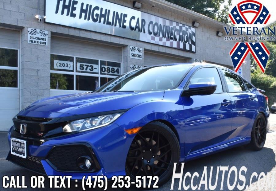 Used 2018 Honda Civic Si Sedan in Waterbury, Connecticut | Highline Car Connection. Waterbury, Connecticut