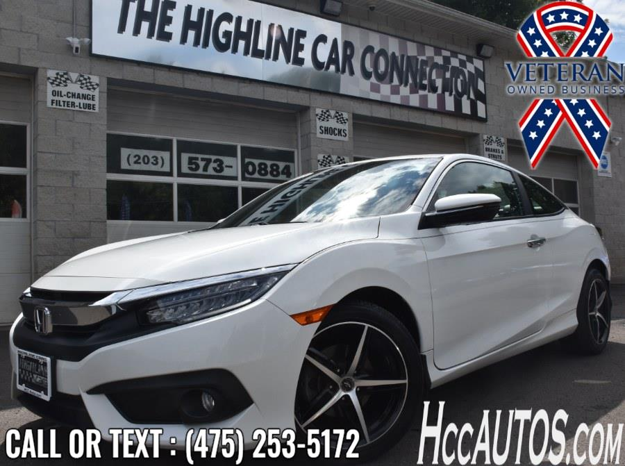 Used Honda Civic Coupe Touring CVT 2017 | Highline Car Connection. Waterbury, Connecticut