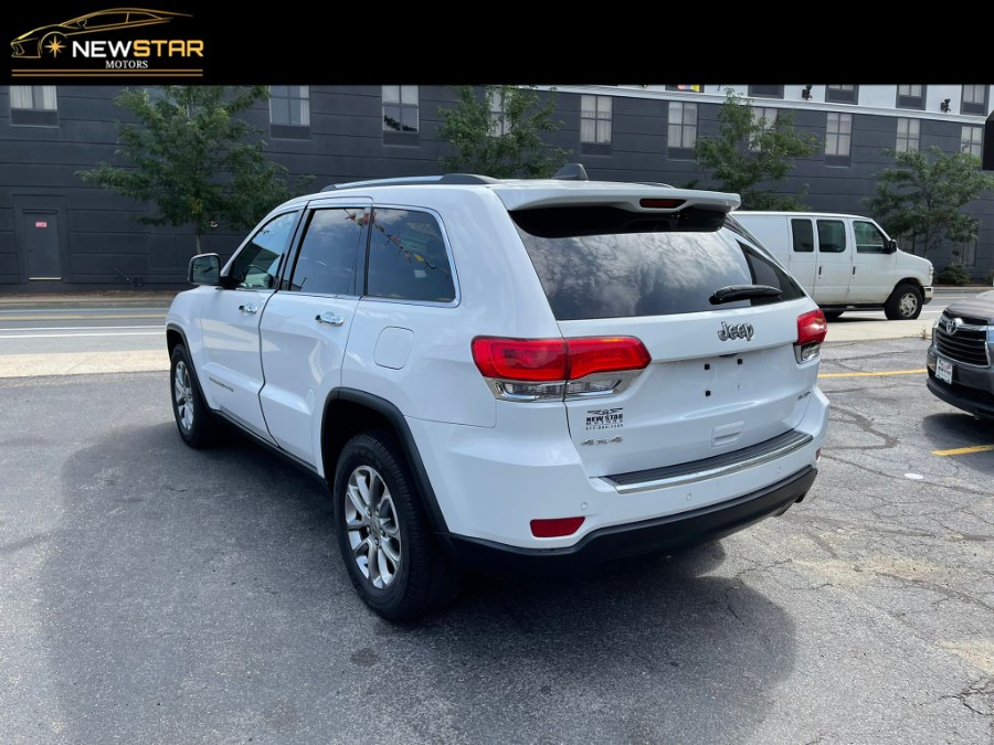 Used Jeep Grand Cherokee 4WD 4dr Limited Suv 2015   New Star Motors. Chelsea, Massachusetts